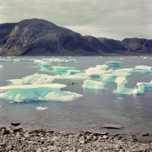 Čeští kajakáři v Grónsku