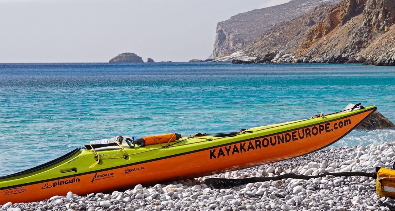 Řecko - Amorgos (Foto: Jiří Oliva, Kayak Around Europe ©)