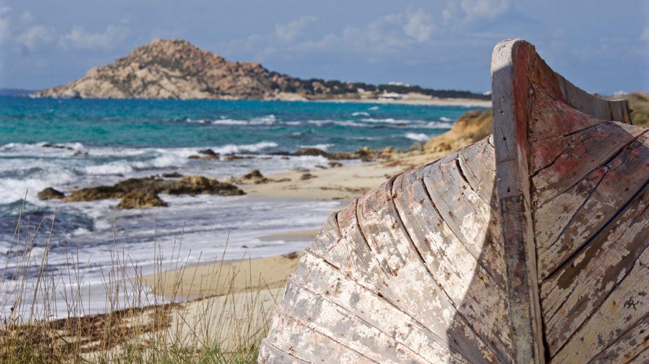 Řecko - Naxos (Foto: Jiří Oliva, Kayak Around Europe ©)